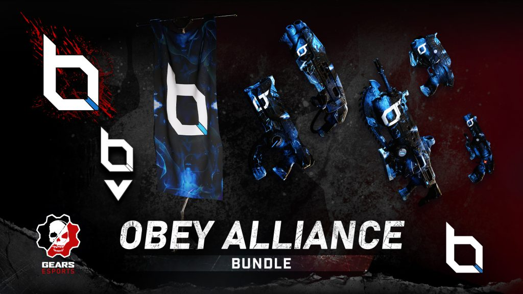 Asset shows the Obey Alliance Bundle