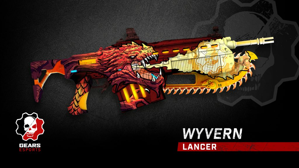 A picture of the Wyvern Lancer skin