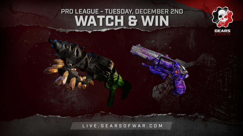 Image showing the Watch & Win Rewards for December 2nd, which are the Bedazzled Boltok and Showdown Claw
