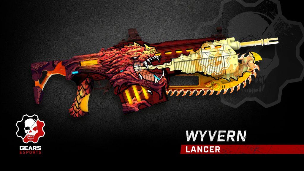 Image showing the Wyvern Lancer weapon skin.