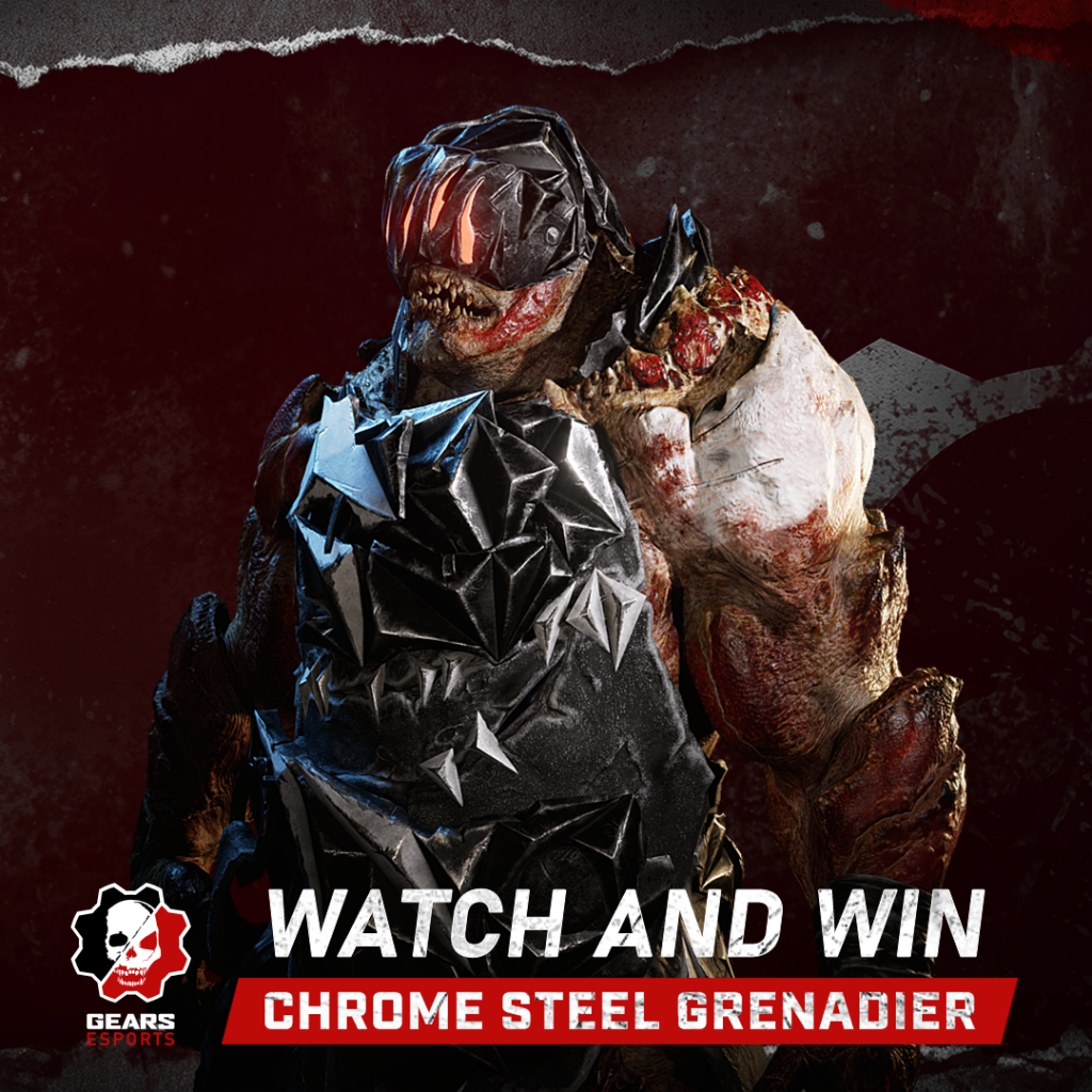 Image showing the Chrome Steel Grenarier that can be earned through Watch and Win