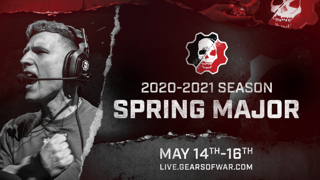 Image showing the announcement for the 2020-2021 Spring Major that takes place from May 14-16, 2021