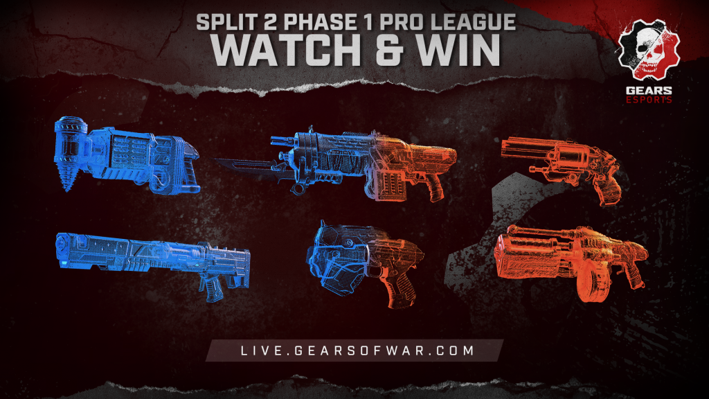 Image showing the Split 2 Phase 1 Pro League Watch and Win Items