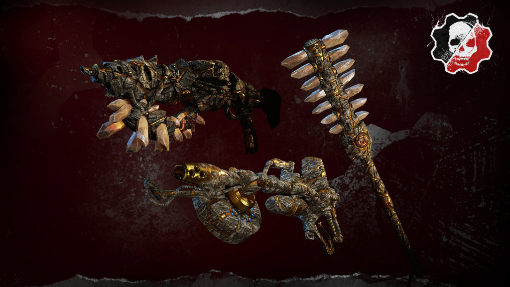 Imagine showing the Watch and Win Items for Week 5 which include the Sundered Claw, Scorcher and Mace